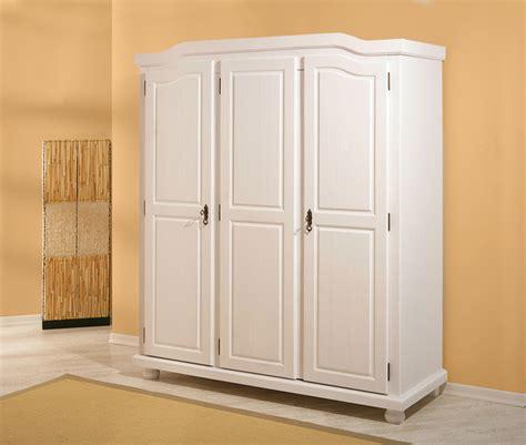 armoire 3 portes bastian blanc