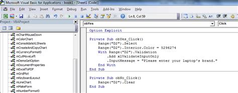 activate  cell  clicking  radio button  excel