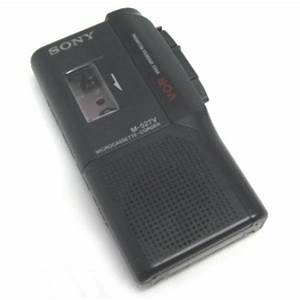 Sony M-527V MicroCassette Recorder M527V Refurbished by ...