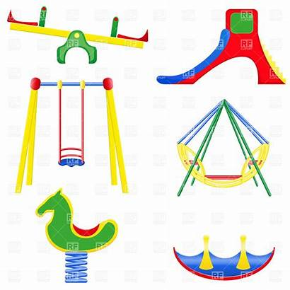 Playground Clipart Equipment Clip Swing Swings Cliparts