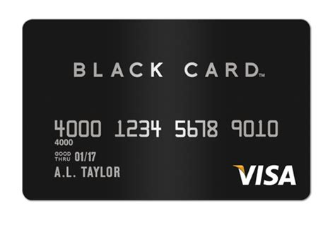 visa black card credit card insider