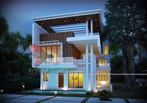 architectural bungalow rendering bungalow elevation design  power