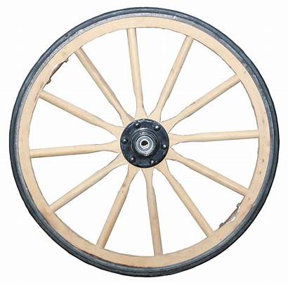 Wooden Cart Clipart Wheel Bullock Horse Wheels