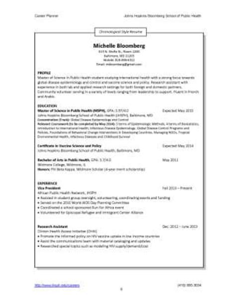 Curriculum Vitae Sle Format by Resumes And Cvs Career Resources For Students Career