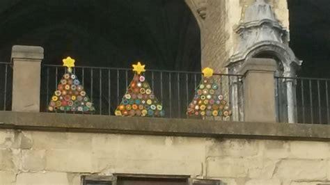 Tejiendo En Vitoria Saluda A La Navidad Desde La Balconada