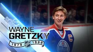 Wayne Gretzky All Time Leader In Goals Points Youtube