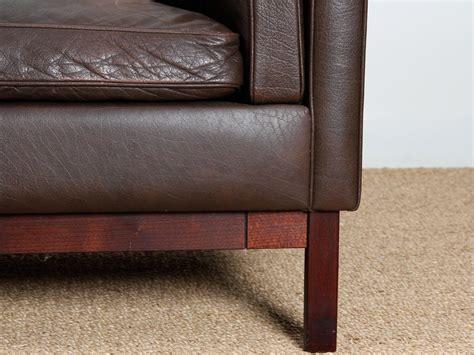 canapé danois canapé danois 3 places en cuir galerie møbler