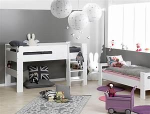 Lit Enfant Superposé : lits superpos s enfant blanc london ~ Melissatoandfro.com Idées de Décoration