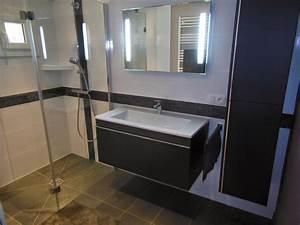 creation de salles de bains douche a l39 italienne et With salle de bains a l italienne