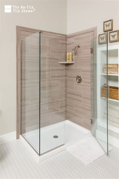 Bathroom Shower Tile Replacement by Tile Shower Base Wall Panel Replacement Ideas Innovate