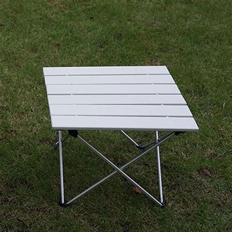 aluminum portable folding table outdoor aluminum folding table portable roll up table