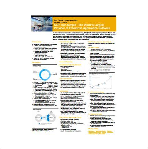 fact sheet templates    premium templates