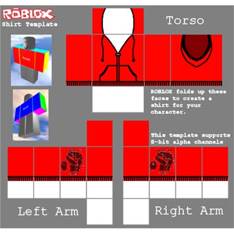 brick planet shirt template roblox hoodie template roblox
