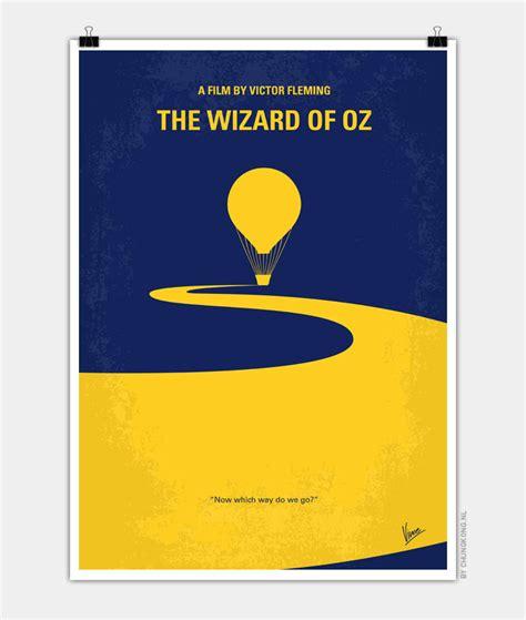 no177 my wizard of oz minimal movie poster chungkong