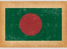 Flag of Bangladesh on Grunge Background Download Free