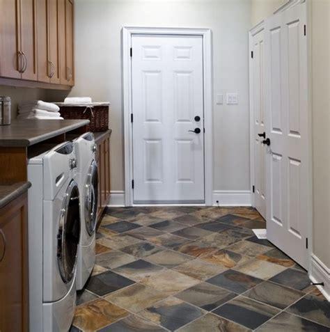 tile basement laundry room flooring flooring ideas