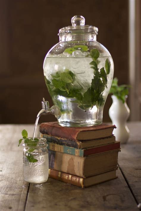 113 best images about Glass Drink Dispensers on Pinterest