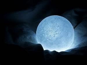 3d Led Lamp Design Supernatural Moon Nightlight