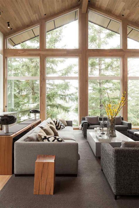 house canapé d angle aménagement intérieur moderne d 39 une maison au canada