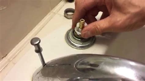 how to change kitchen sink faucet tutorial delta faucet cartridge replacement