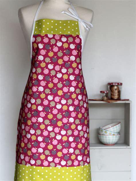 tablier cuisine femme tablier de cuisine femme frutti creacoton