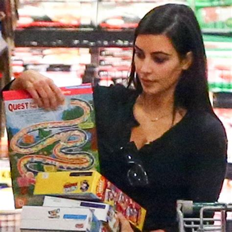 Look: Kim K. Stocks Up on Cereal During Huge Grocery Trip ...