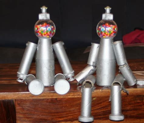des robots en pots de cr 232 me et d aspirine