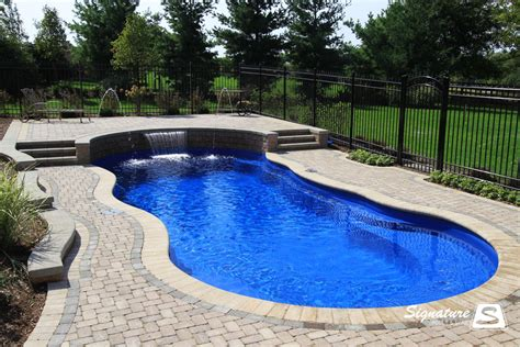 cost of swimming pool inground pool cost 171 hidden water pools cost