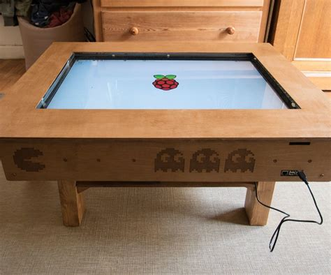 touch screen coffee table diy   tv   cost ccd