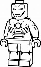 Coloring Iron Pages Lego Printable Ironman Getcolorings Weird sketch template