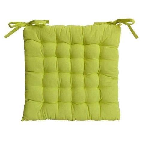 galette de chaise de jardin galette de chaise 25 points 40x40x4cm vert anis achat