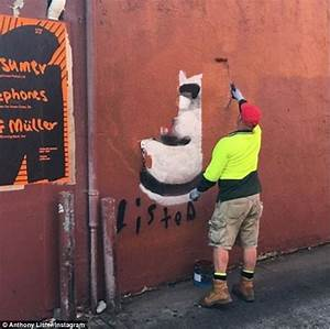 'Brisbane's Banksy' Anthony Lister charged with criminal ...