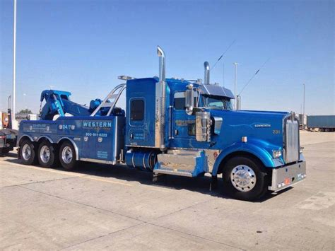 truck wreckers kenworth western distributing transportation denver co kenworth