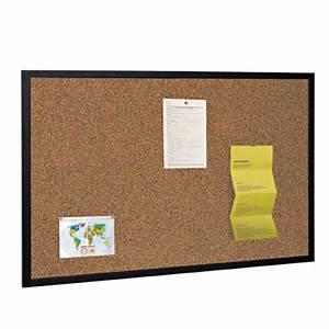 black frame cork notice board black wood framed cork pin With black letter pin board