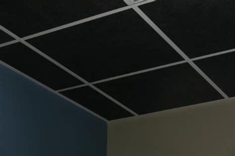 24 X 24 Black Ceiling Tiles by Best Cheap 10 Black Acoustic Ceiling Tiles 48 Quot X 24