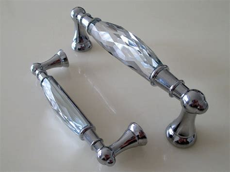 Buy Clear Glass Dresser Drawer Handles