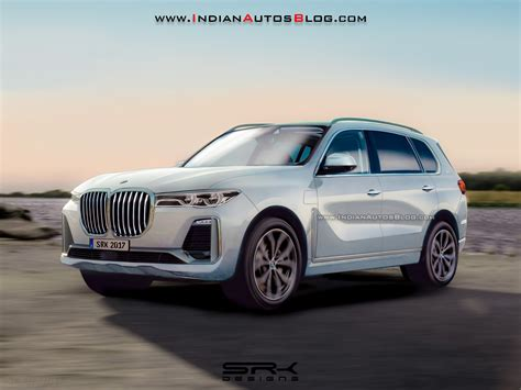 bmw x7 rendering looks very concept y