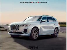 BMW X7 Rendering looks very Concepty