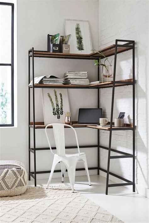 Next Bronx Modular Corner Desk Natural in 2020 White