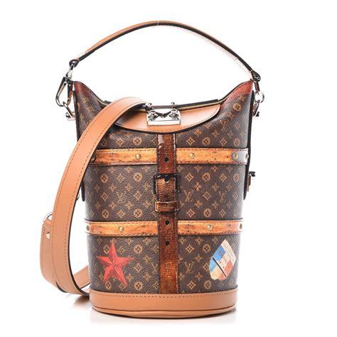 louis vuitton transformed monogram time trunk duffle bag  fashionphile