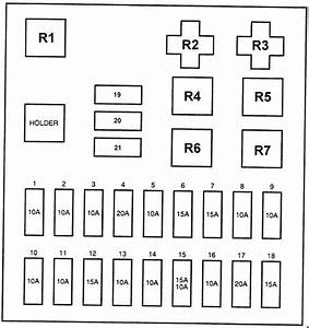 Hyundai H100  1997  - Fuse Box Diagram