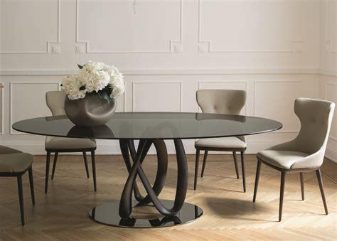 porada infinity ellittico dining table porada tables