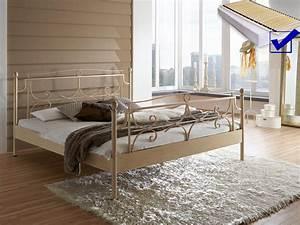 Lattenrost Für Metallbett : metallbett komplett bett mira lattenrost matratze varianten wohnbereiche schlafzimmer ~ Markanthonyermac.com Haus und Dekorationen