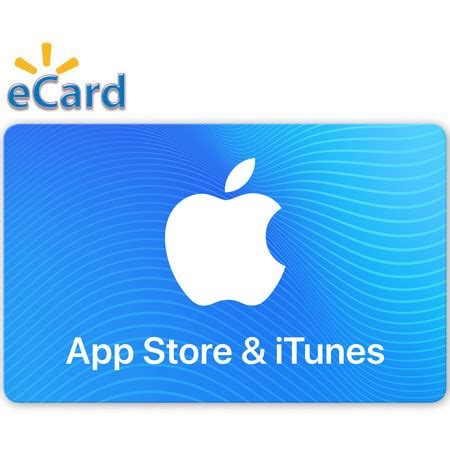 15 app store itunes gift card email delivery walmart