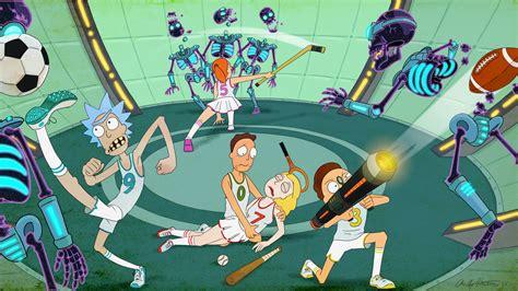 wallpaper rick  morty rick  season  tv series