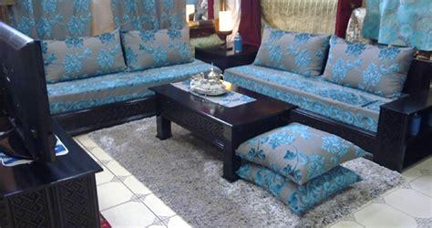 housse sur mesure canapé accessoires salon marocain salon marocain à montréal