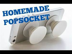How To Make A Homemade Popsocket!!! Very Easy - YouTube