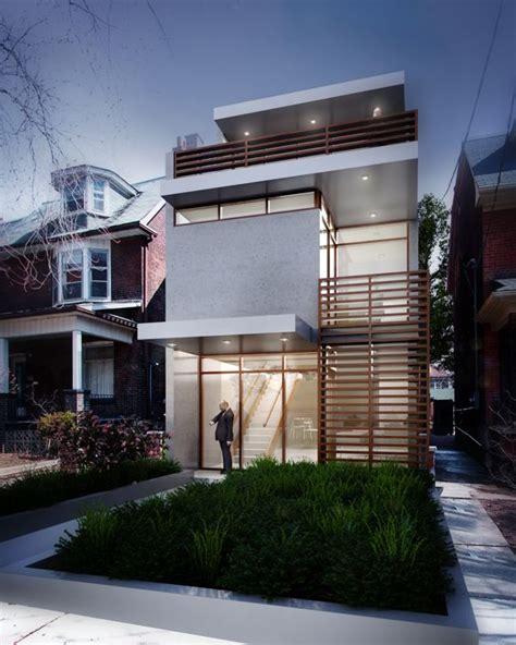 fachadas de casas estreitas narrow house urban  house