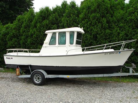 Types Of Pilot House Boats by Shamrock Pilot House 20 1984 For Sale For 1 Boats From
