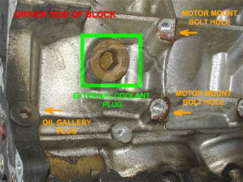 easy   drain  block  coolant lstech camaro  firebird forum discussion